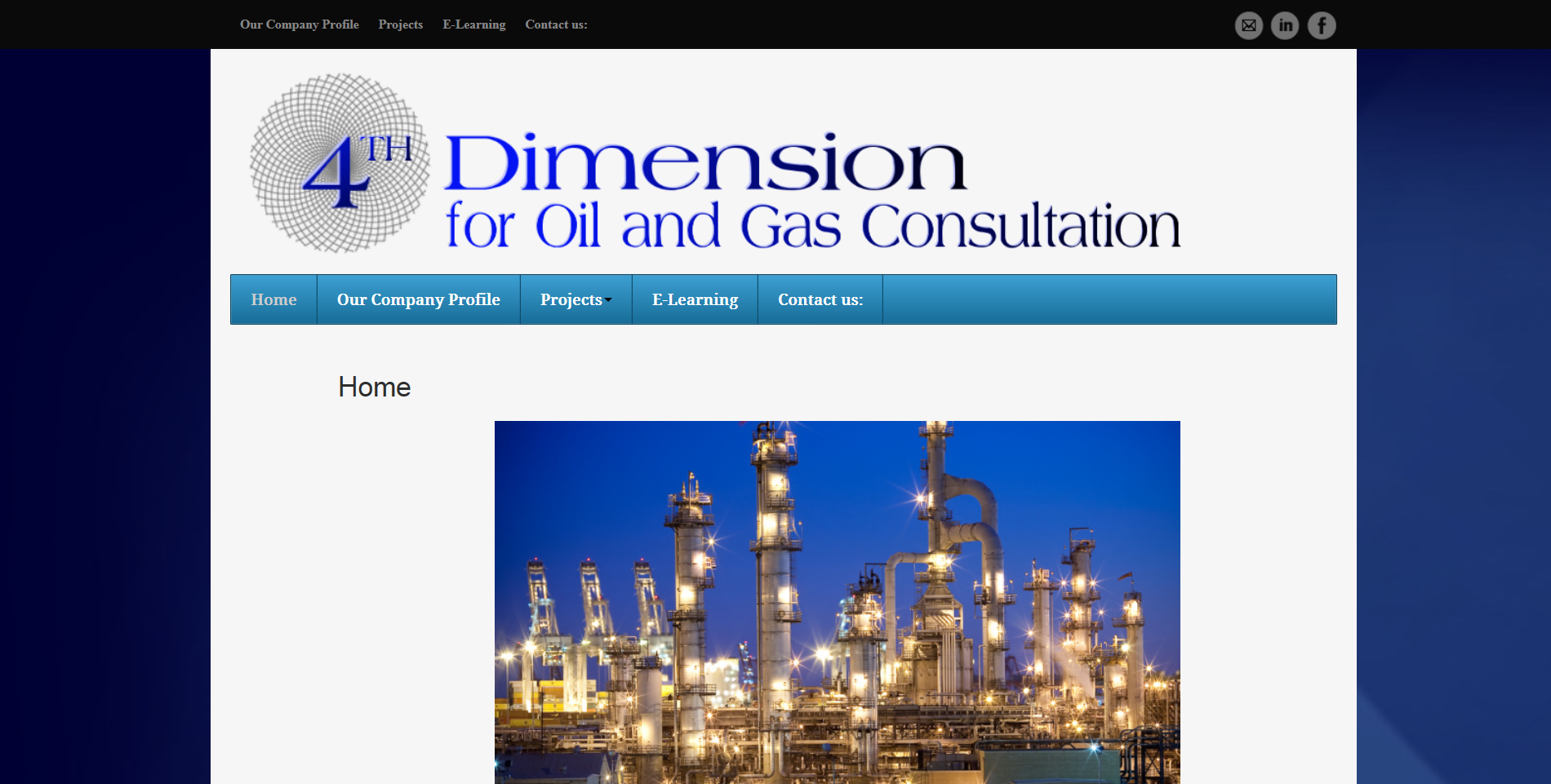 4th Dimension for Oil and Gas Consultation